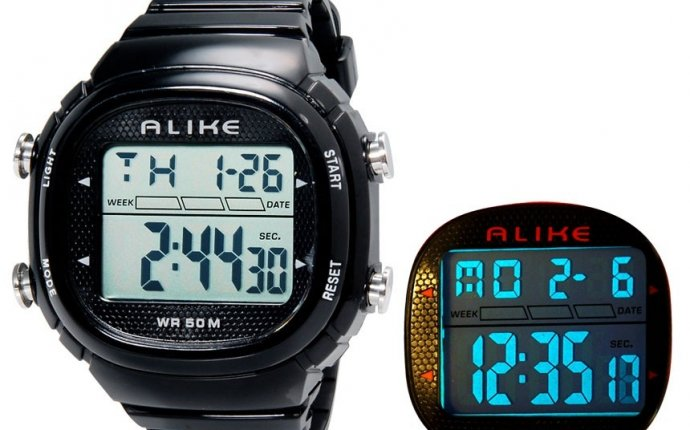 ALIKE AK1281 унисекс цифровые спортивные наручные часы с