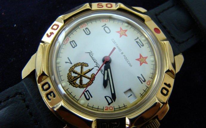 Часы наручные Восток Командирские механические 439075/2414