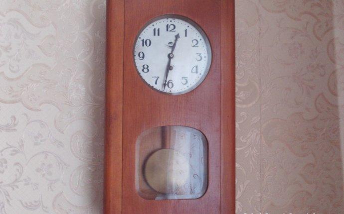 Часы настенные ОЧЗ рабочие б/у – SECOND.BY