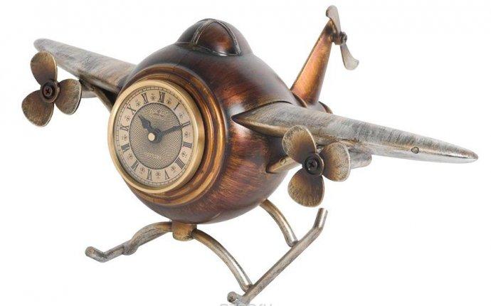 Часы настольные Lisheng Самолет . LI-1337M-AL - купить по