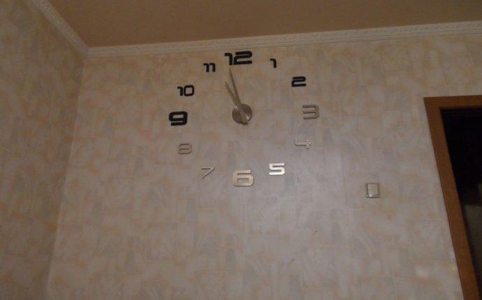 Дизайнерские большие DIY настенные часы