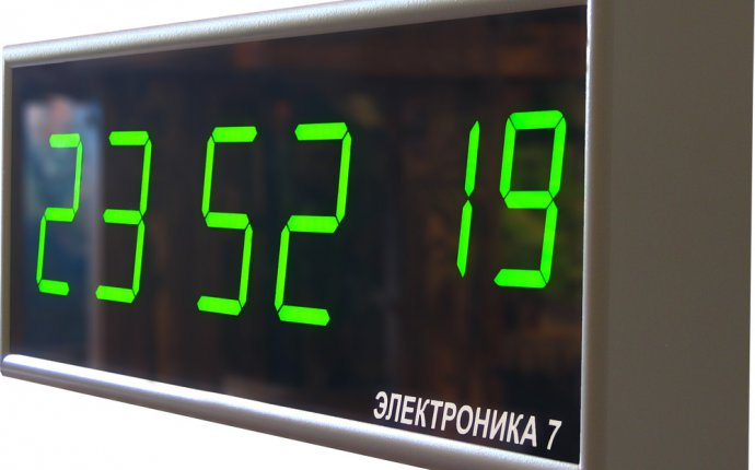 Электронные часы Электроника 7. Производство - Завод Рефлектор