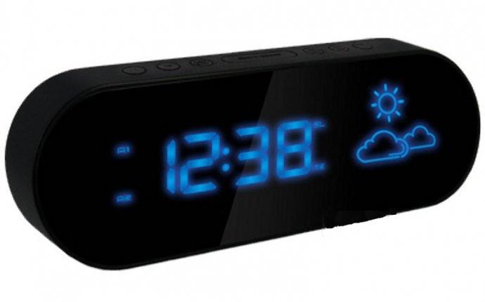 Электронные настольные часы