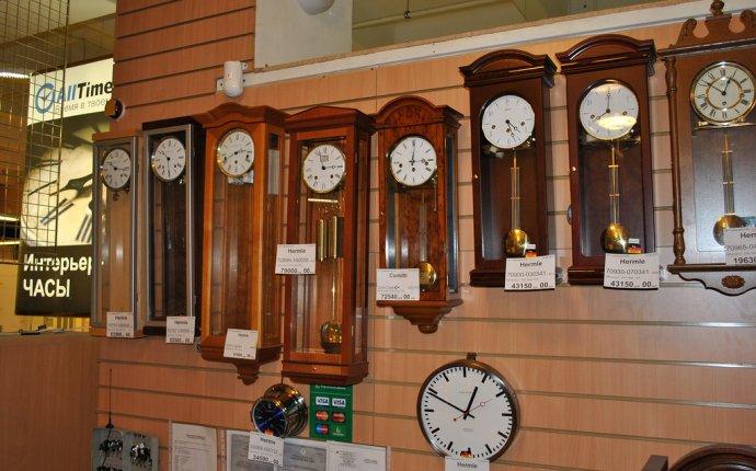 Интерьерные часы в ТЦ Громада