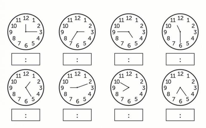 Изучаем часы и время с детьми