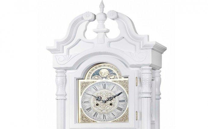 Механические напольные часы Columbus CL-9221M Белый Лебедь
