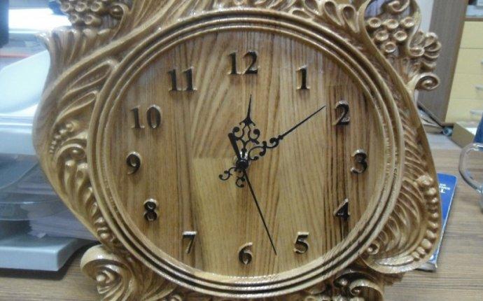 настенных часов - Изделия на чпу станках