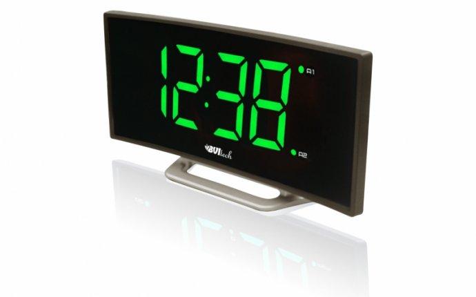 Настольные часы BVItech BV-412G сетевые - купить в интернет