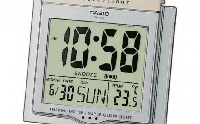 Настольные часы CASIO DQ-750-8ER, DQ-750-8ER, купить по цене 815 грн