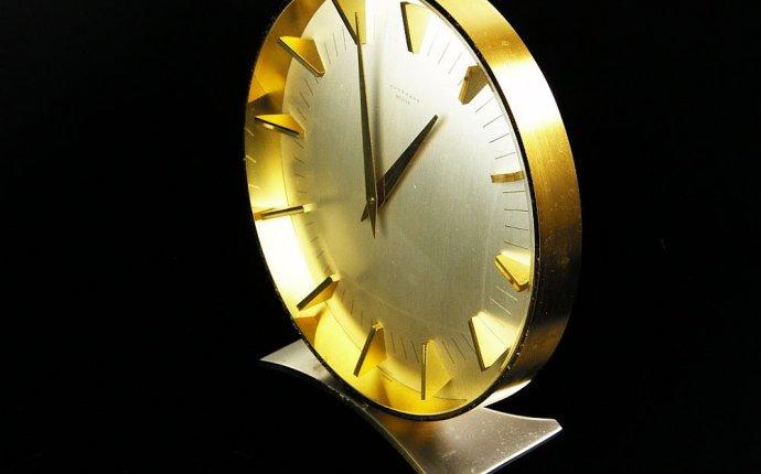 настольные часы Junghans Meister Антикварный интернет магазин