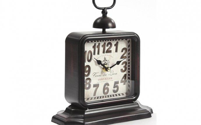 настольные часы в стиле ретро, купить часы в стиле ретро, часы в