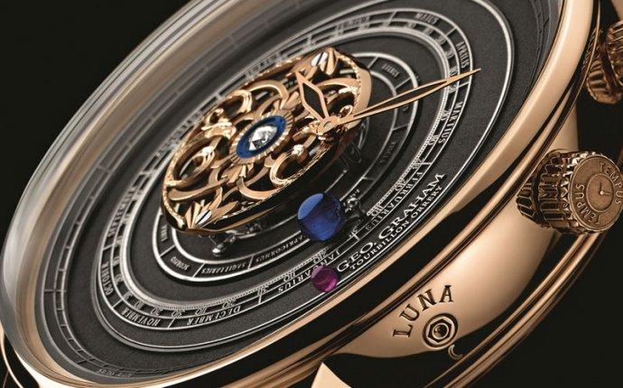 необычные часы в мире - Geo.Graham Tourbillon Orrery