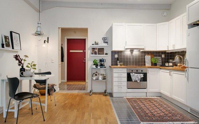 Скандинавский стиль в интерьере кухни: фото, дизайн, советы по декору