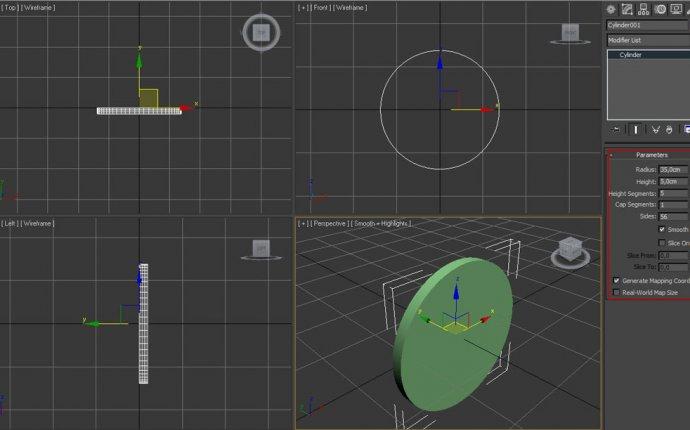 Создание 3D модели часов в 3d Max